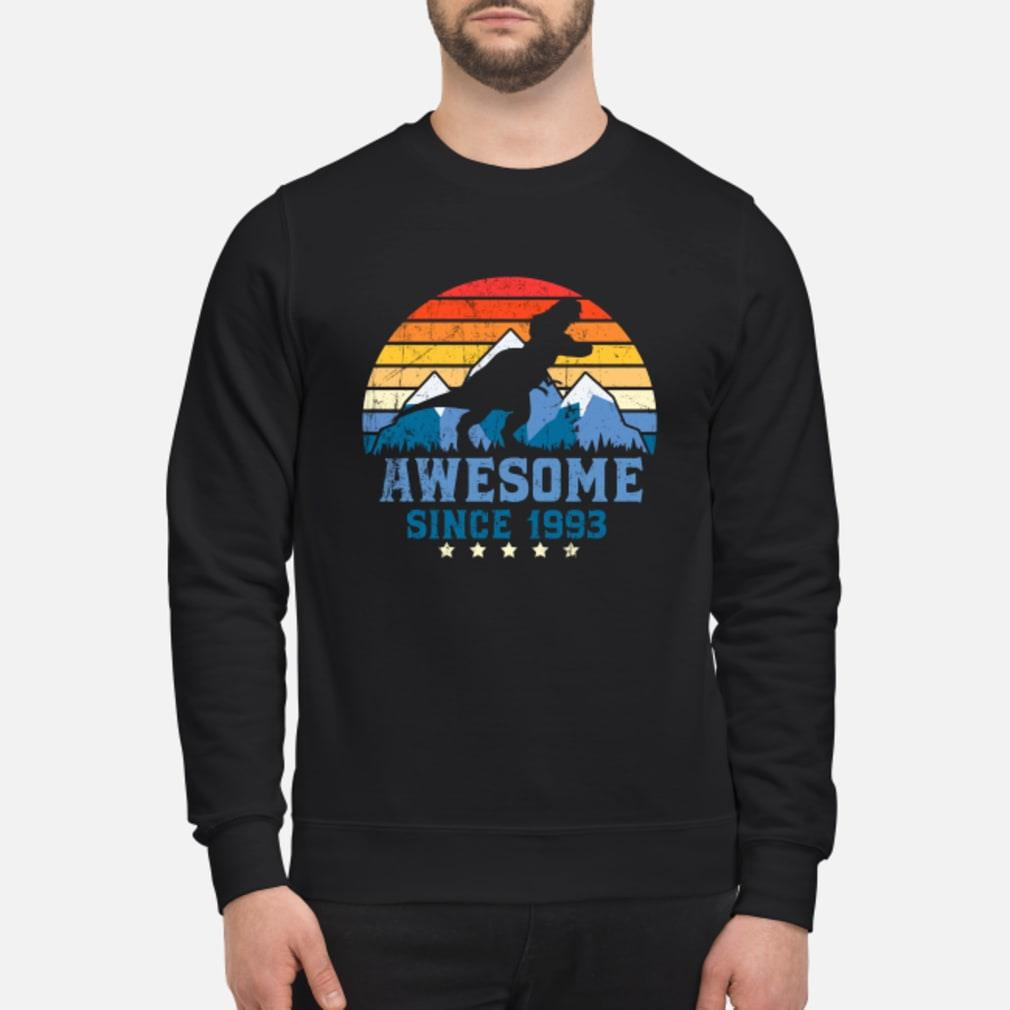 Awesome sunset mountain and dinosaurs since 1993 Shirt sweater