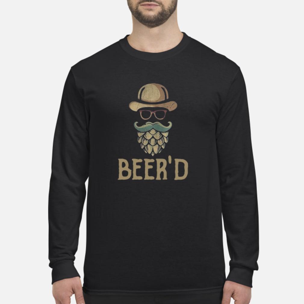 Beer'd beer beard shirt Long sleeved