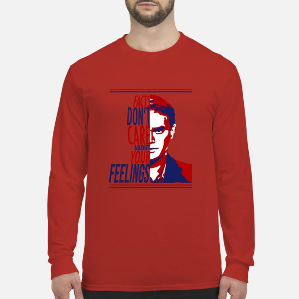 Ben Shapiro Facts don't care about your feelings shirt Long sleeved