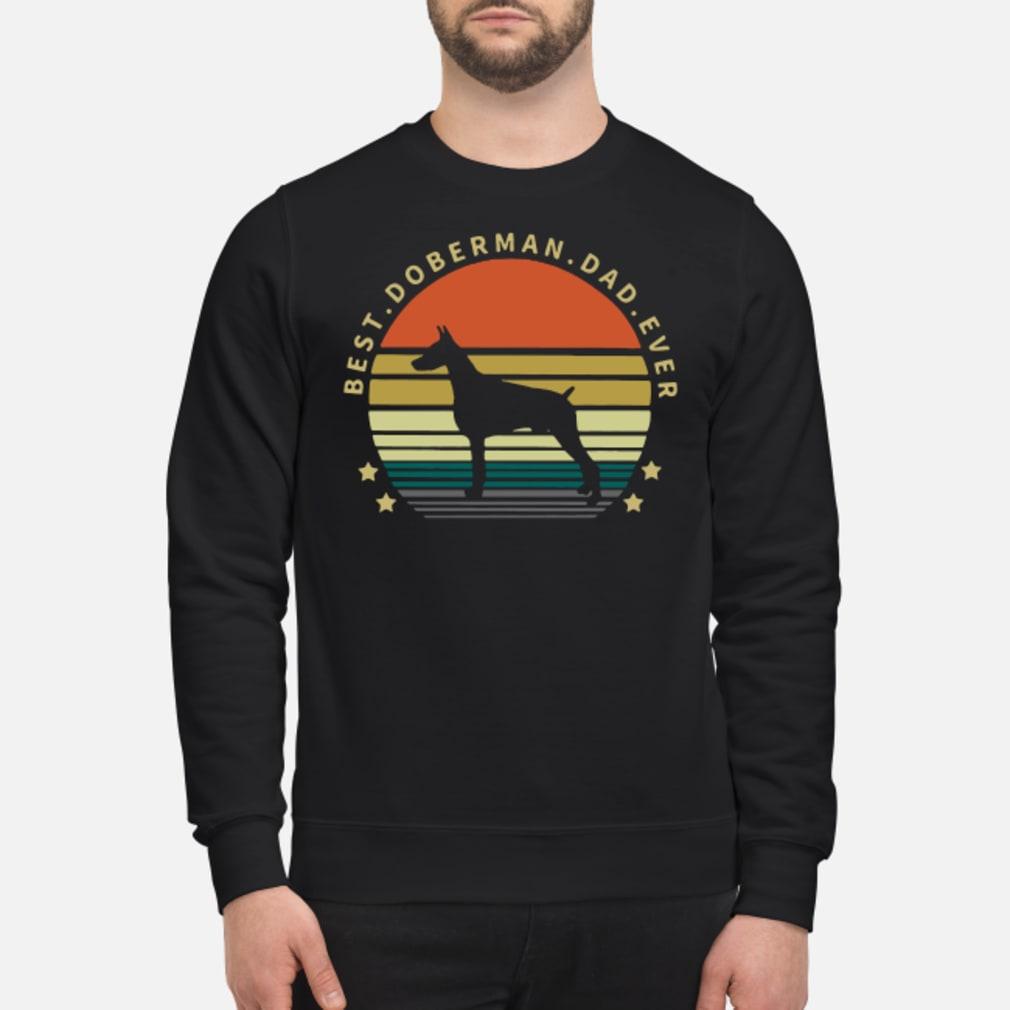 Best Doberman dad ever vintage Shirt sweater