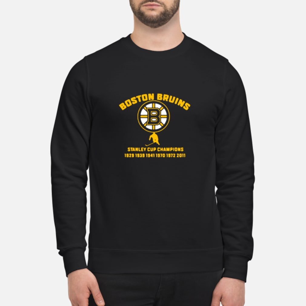 Boston Bruins stanley cup 1929 1939 1941 shirt sweater