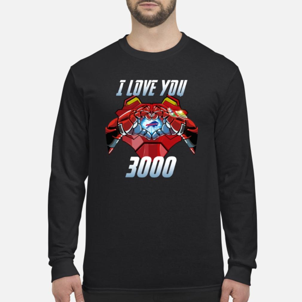 Buffalo Bills I Love You 3000 shirt Long sleeved