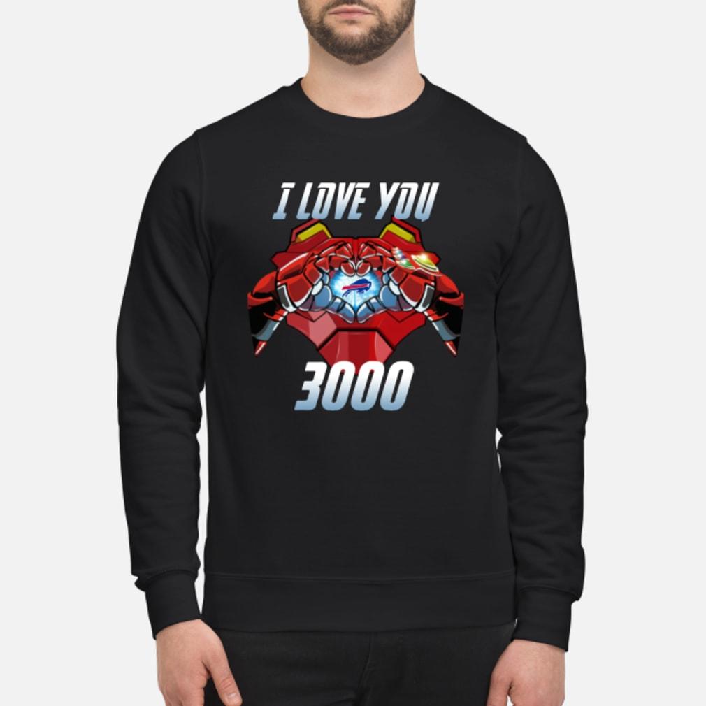 Buffalo Bills I Love You 3000 shirt sweater