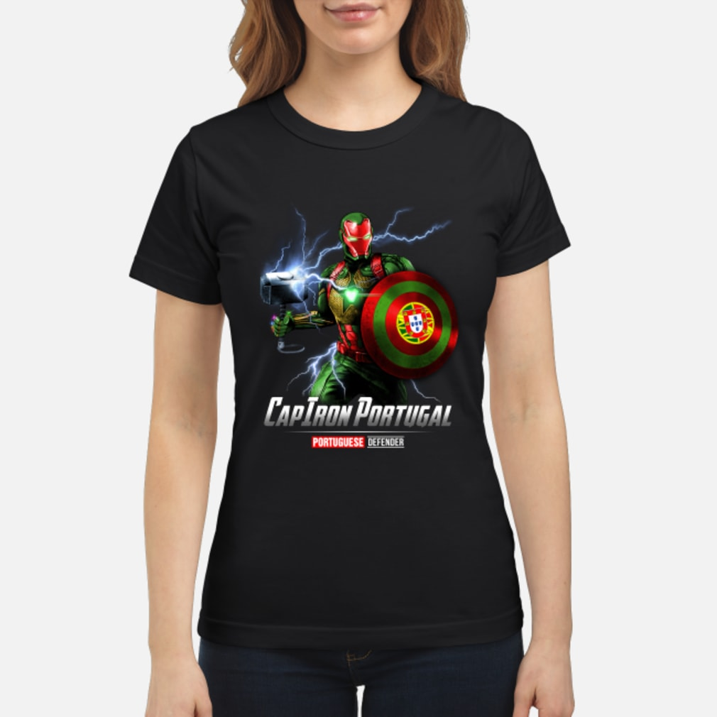 CapIron Portugal Portuguese Defender shirt ladies tee