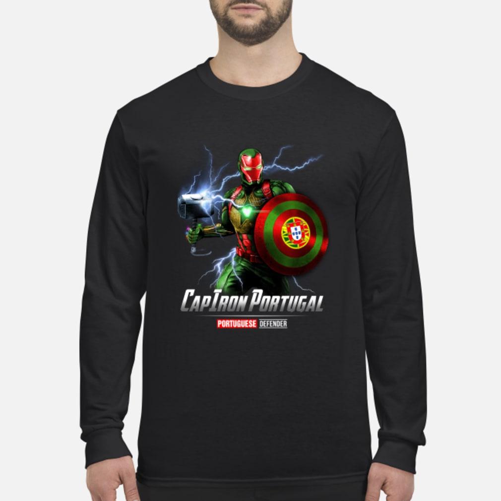 CapIron Portugal Portuguese Defender shirt Long sleeved