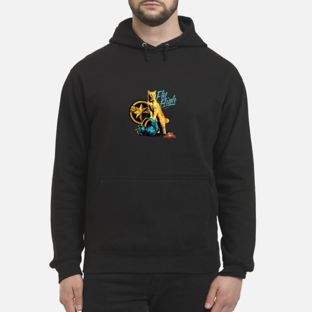 Captain Marvel Goose Fly high shirt hoodie