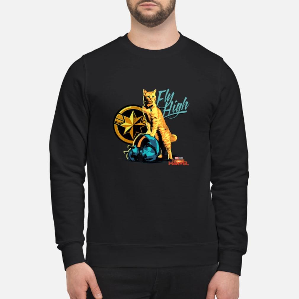Captain Marvel Goose Fly high shirt sweater