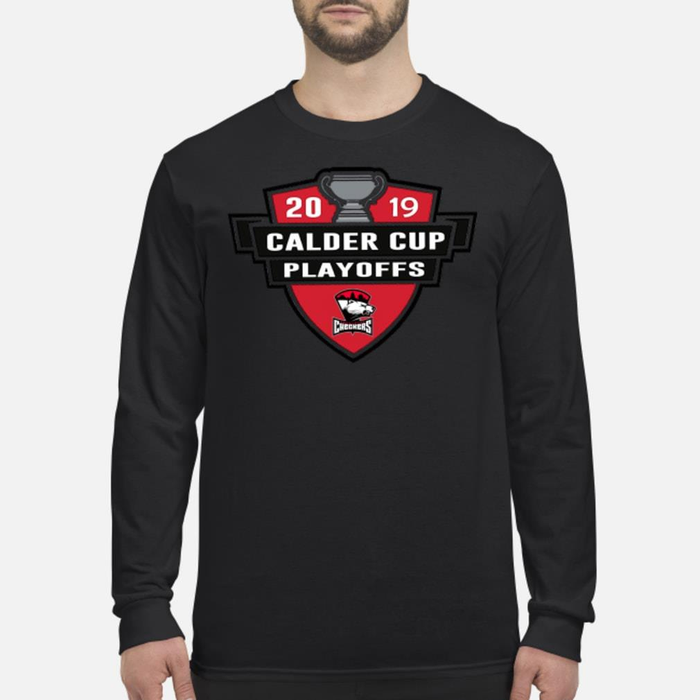 Charlotte Checkers 2019 Calder Cup Playoffs Shirt Long sleeved