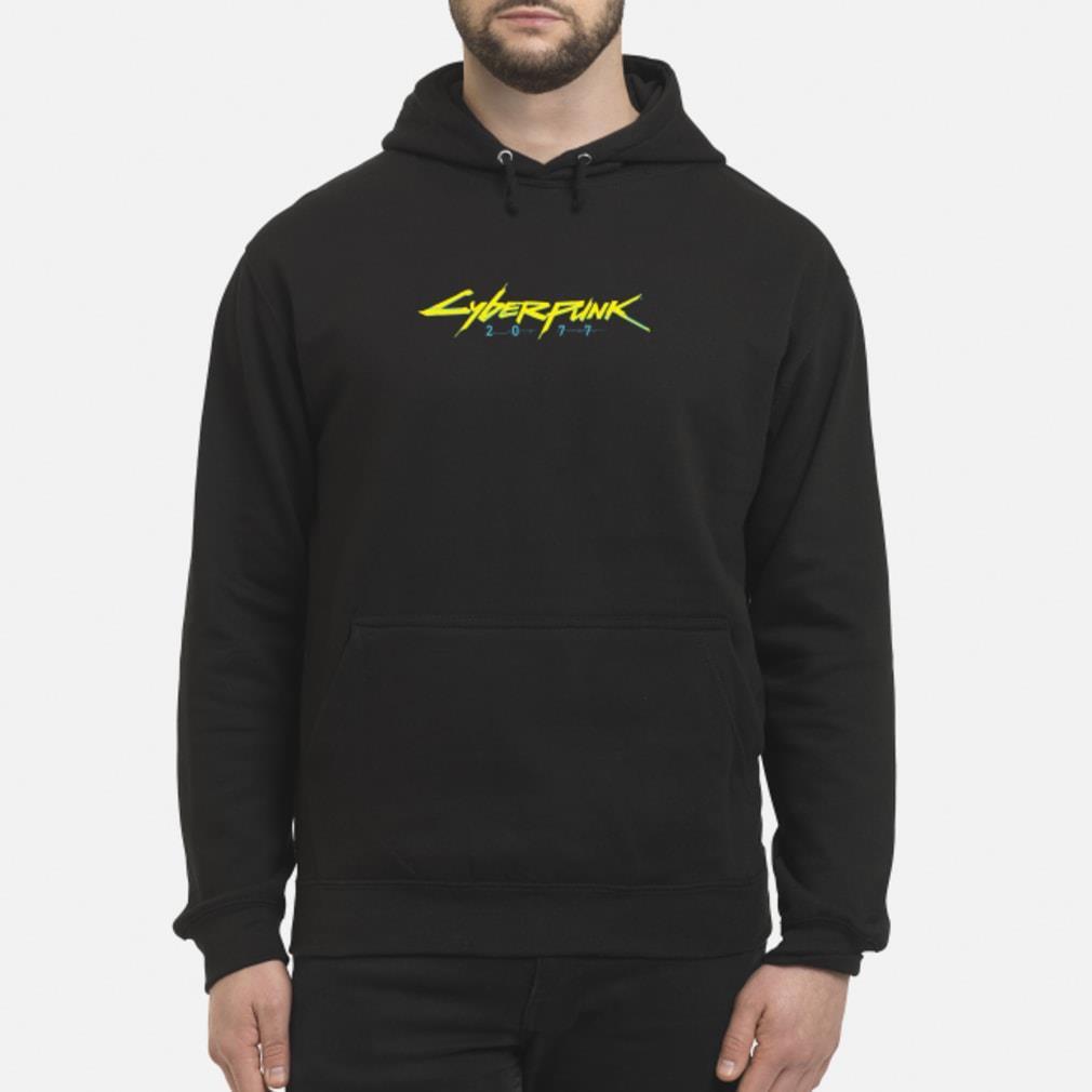 Cyberpunk 2077 Logo T-Shirt hoodie