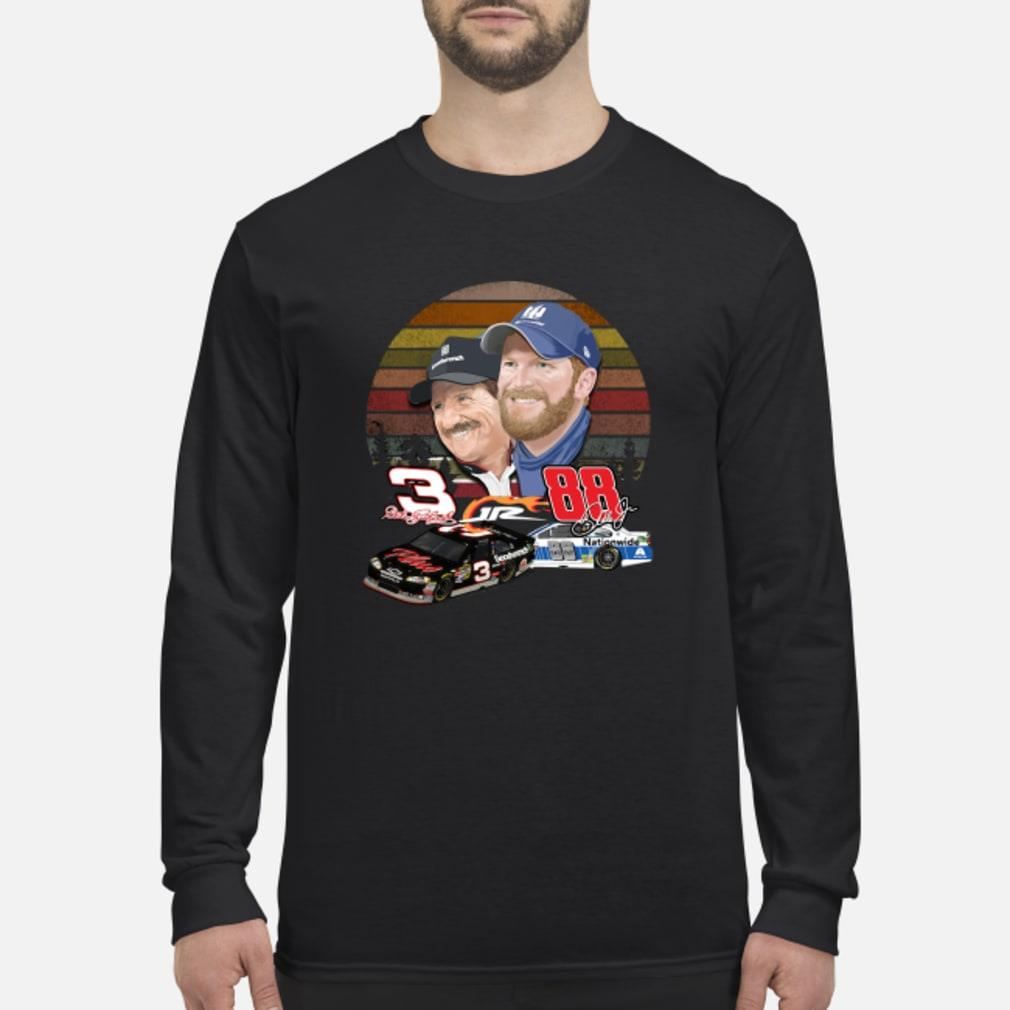 Dale Earnhardt and Dale Earnhardt Jr. forever love vintage shirt Long sleeved