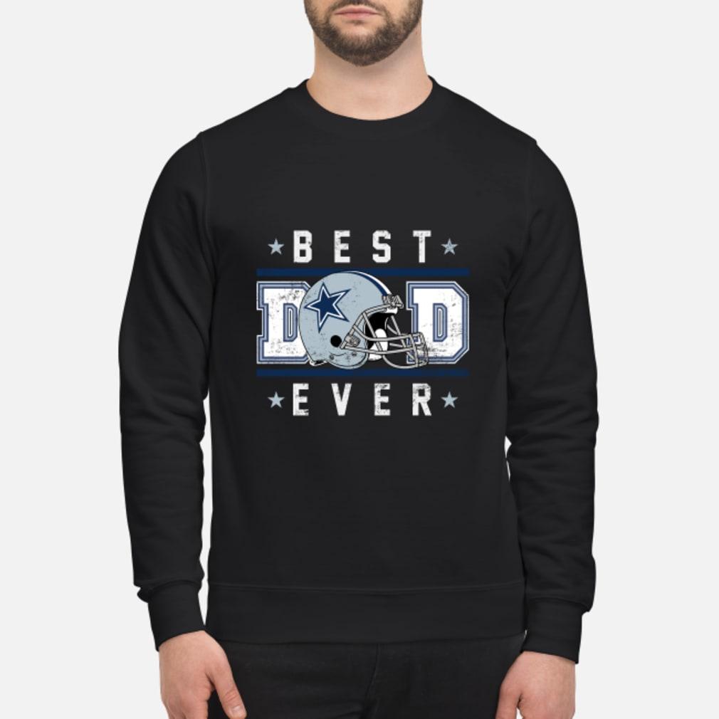 Dallas cowboy best dad ever shirt sweater