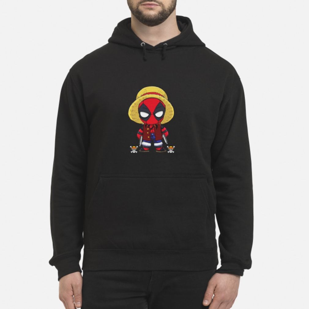 Deadpool Luffy funny One piece shirt hoodie