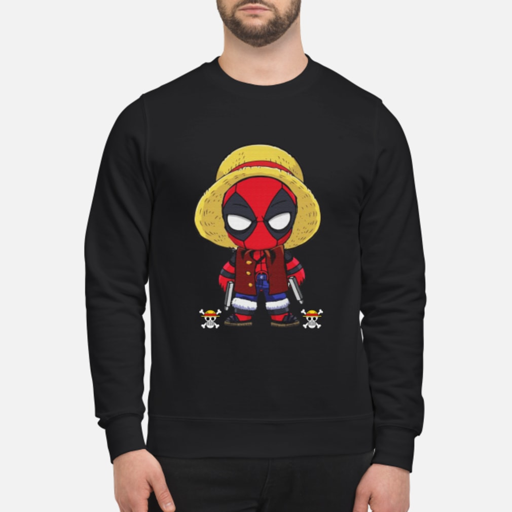 Deadpool Luffy funny One piece shirt sweater