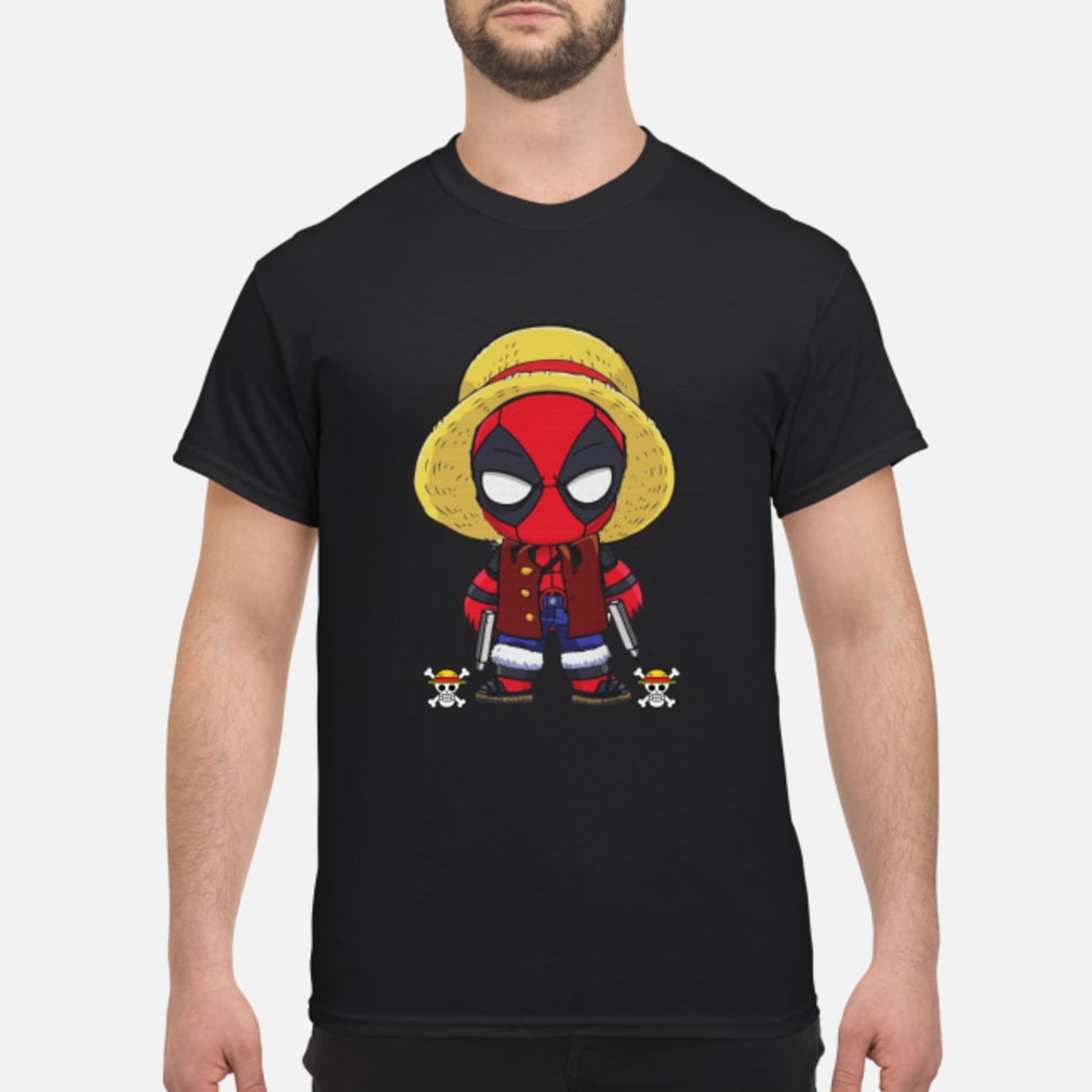 Deadpool Luffy funny One piece shirt