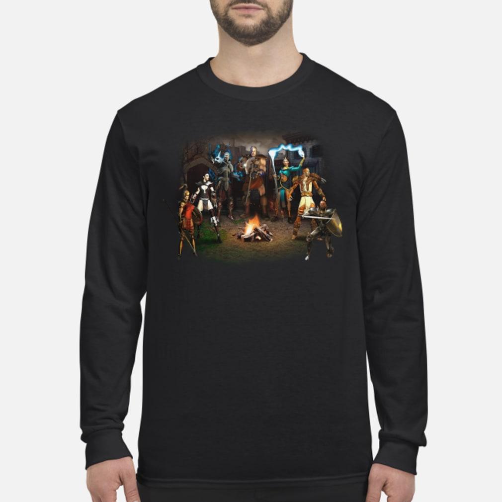 Diablo 2 of Destruction shirt long sleeved