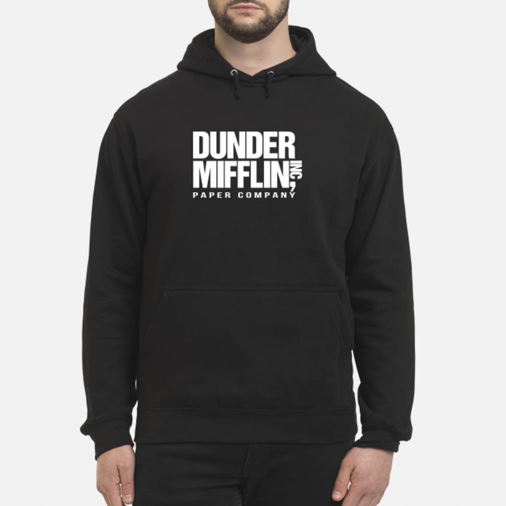 Dunder mifflin hoodie hoodie