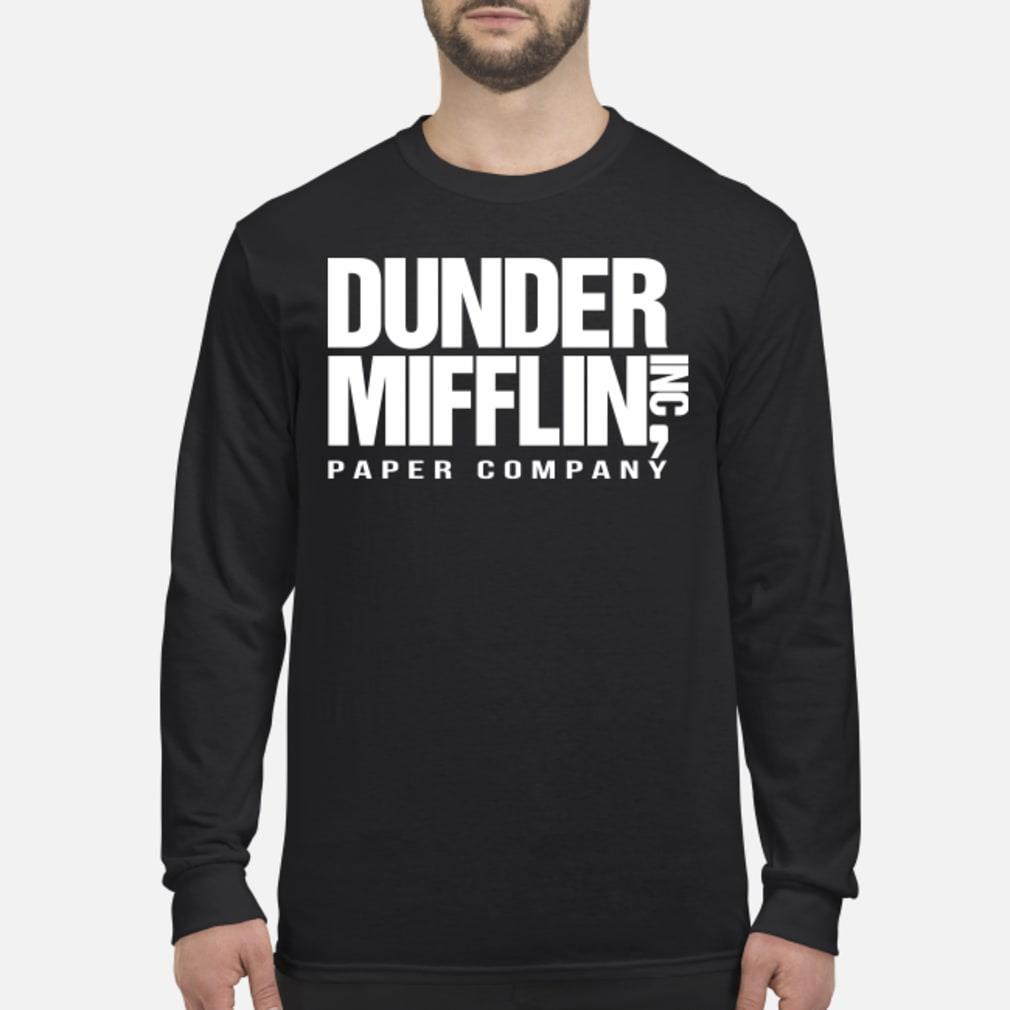 Dunder mifflin hoodie Long sleeved