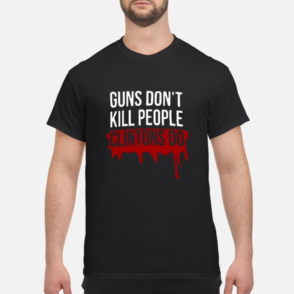 Dwayne Johnson Guns Don't Kill People Clintons Do Shirt
