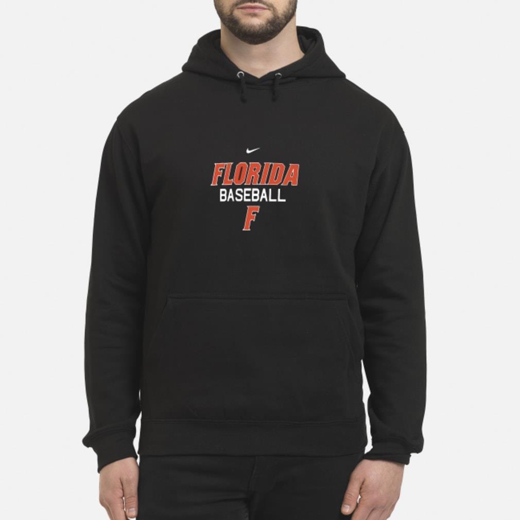 Florida Gator baseball F shirt hoodie