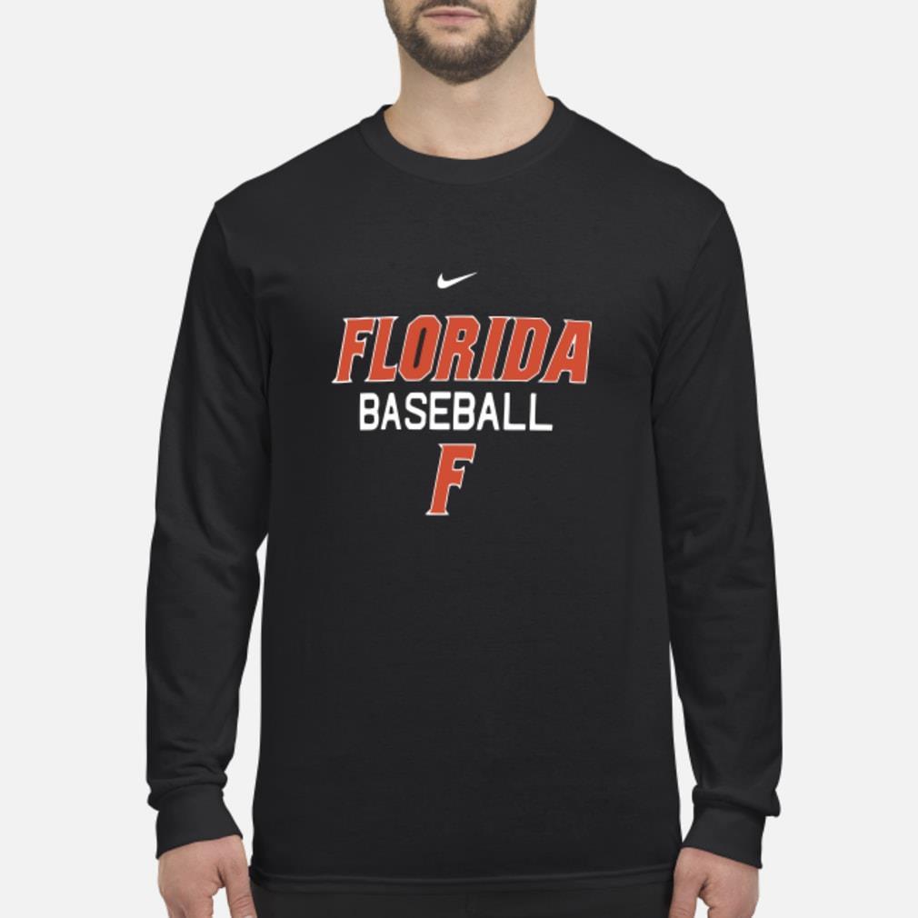Florida Gator baseball F shirt Long sleeved
