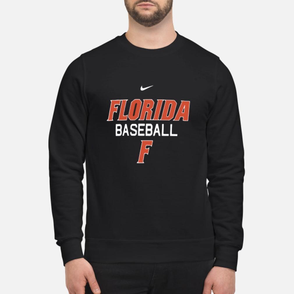 Florida Gator baseball F shirt sweater