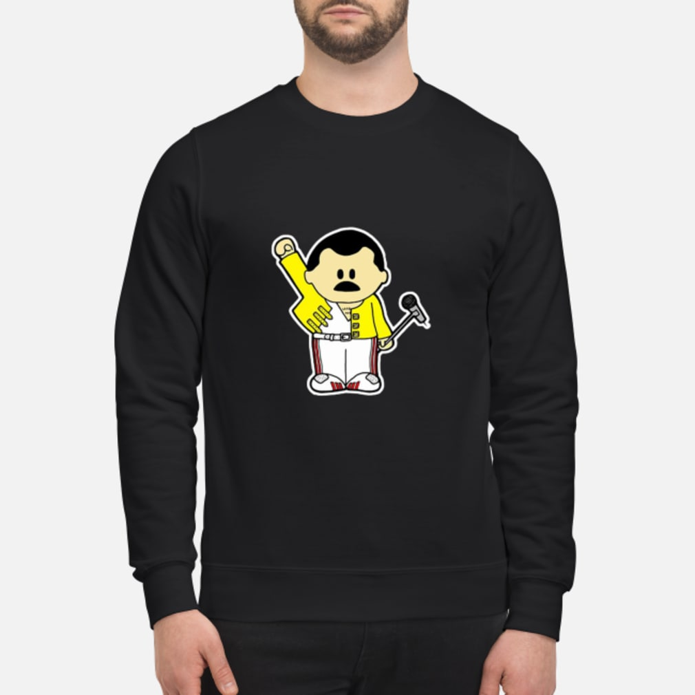 Freddie Mercury Queen Inspired Cartoon Adults shirt sweater