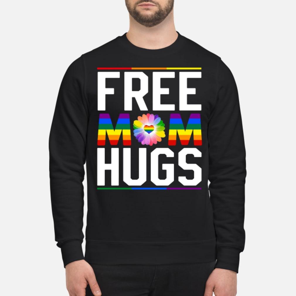 Free mom hugs pride LGBT shirt sweater