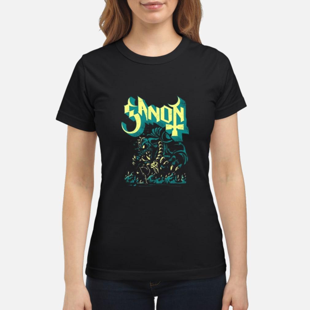 Ganon Ghost Shirt ladies tee