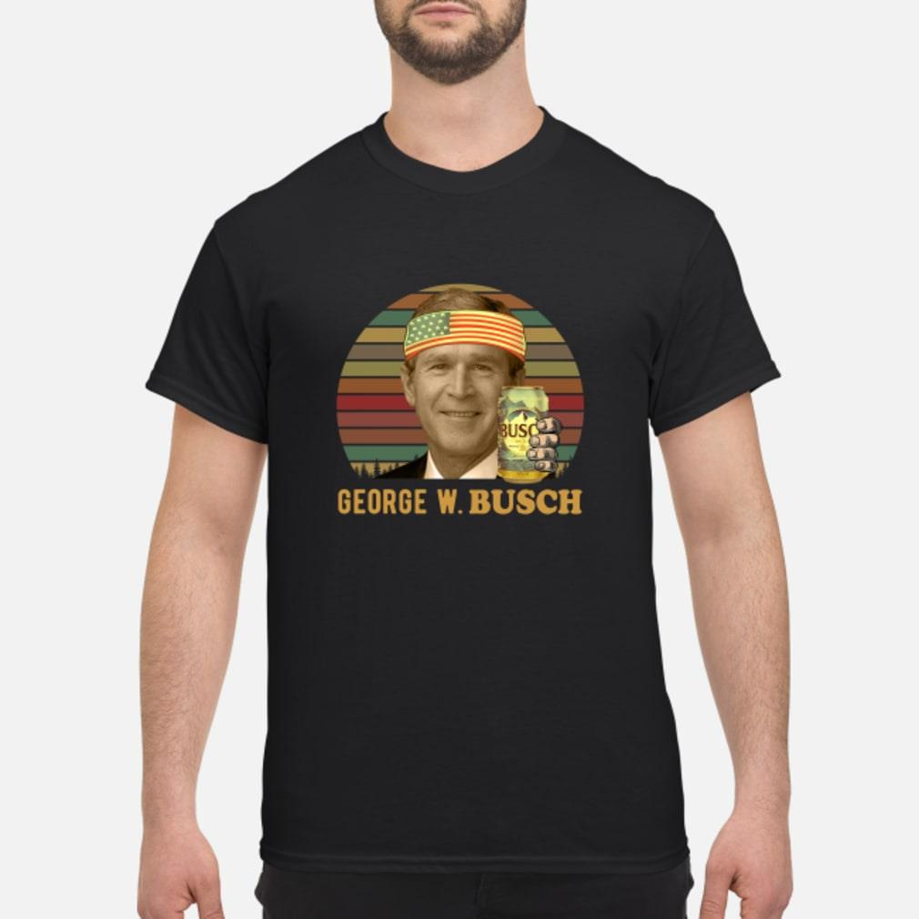 George W.Busch shirt