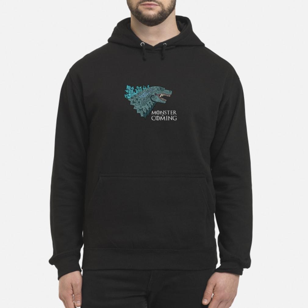 Godzilla Monster is coming shirt hoodie