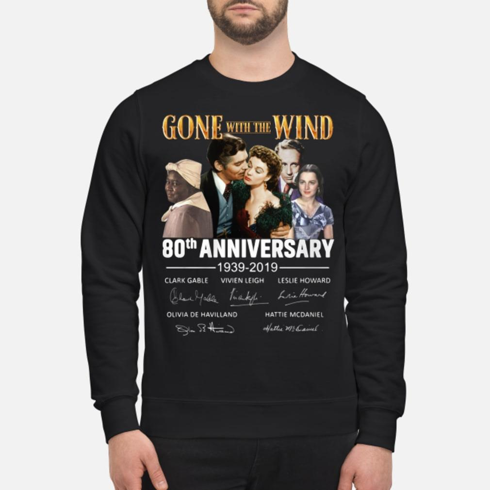 Gone With The Wind 80th Anniversary Signature Shirt sweater
