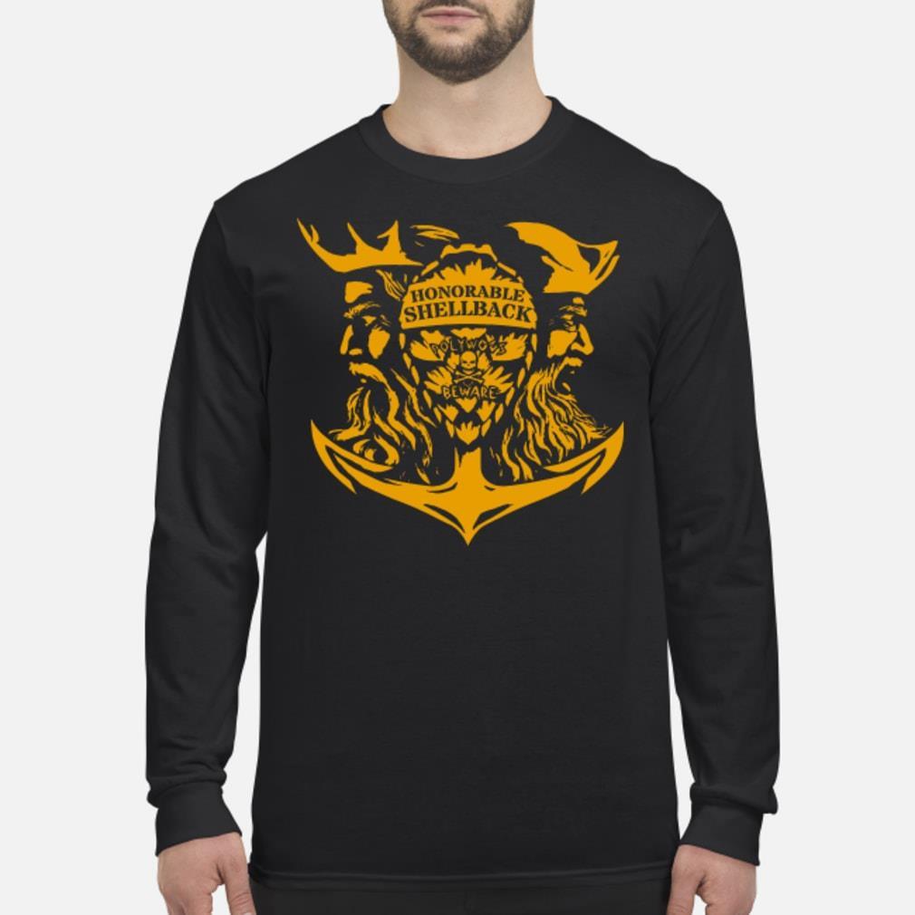 Honorable Shellback Pollywog Beware Shirt Long sleeved