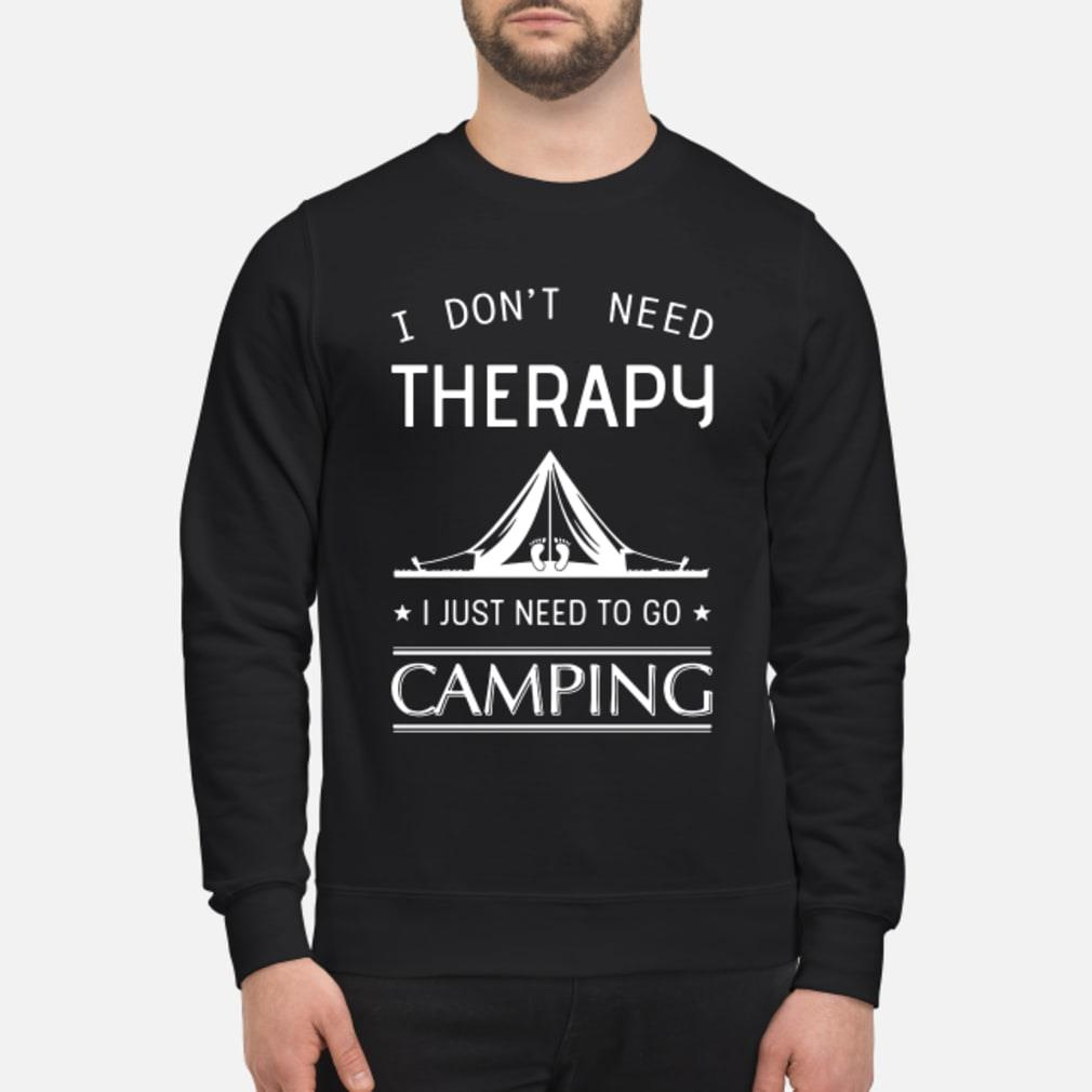I don't need therapy I just need to go fishing shirt sweater