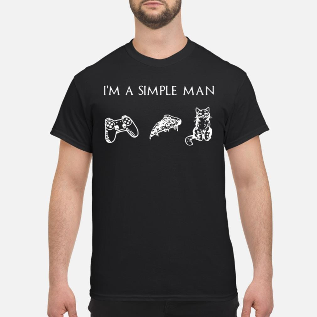 I'm simple man and Cat shirt