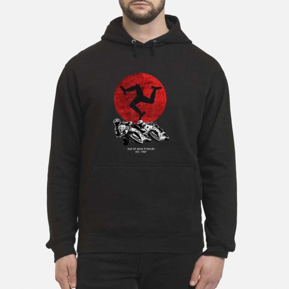 Isle of man TT races shirt hoodie