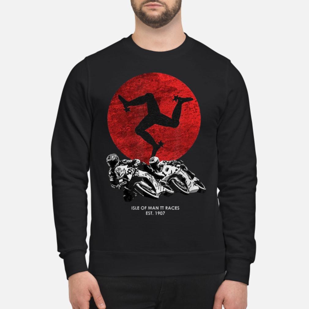 Isle of man TT races shirt sweater