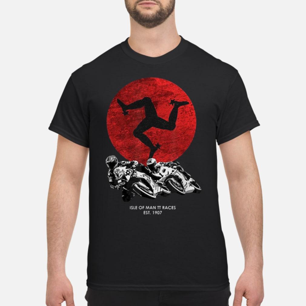 Isle of man TT races shirt