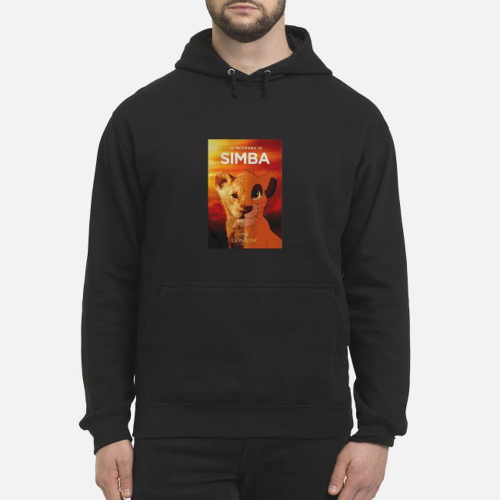 JD McCrary Is Simba The Lion King Shirt hoodie