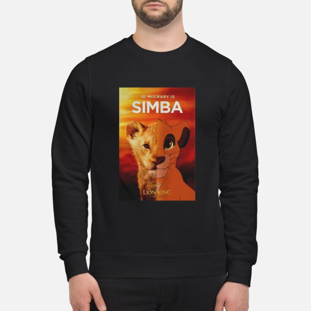 JD McCrary Is Simba The Lion King Shirt sweater