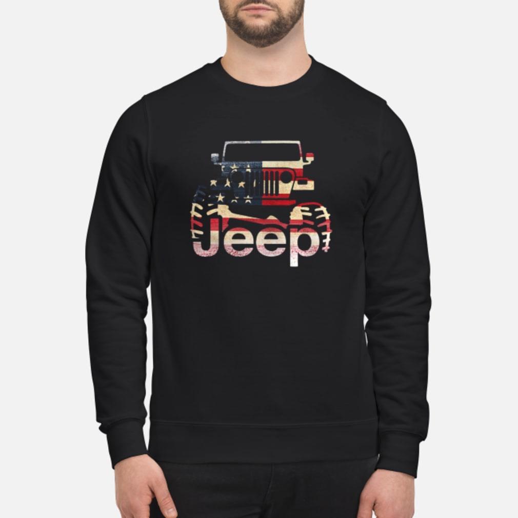Jeep Flag USA shirt sweater