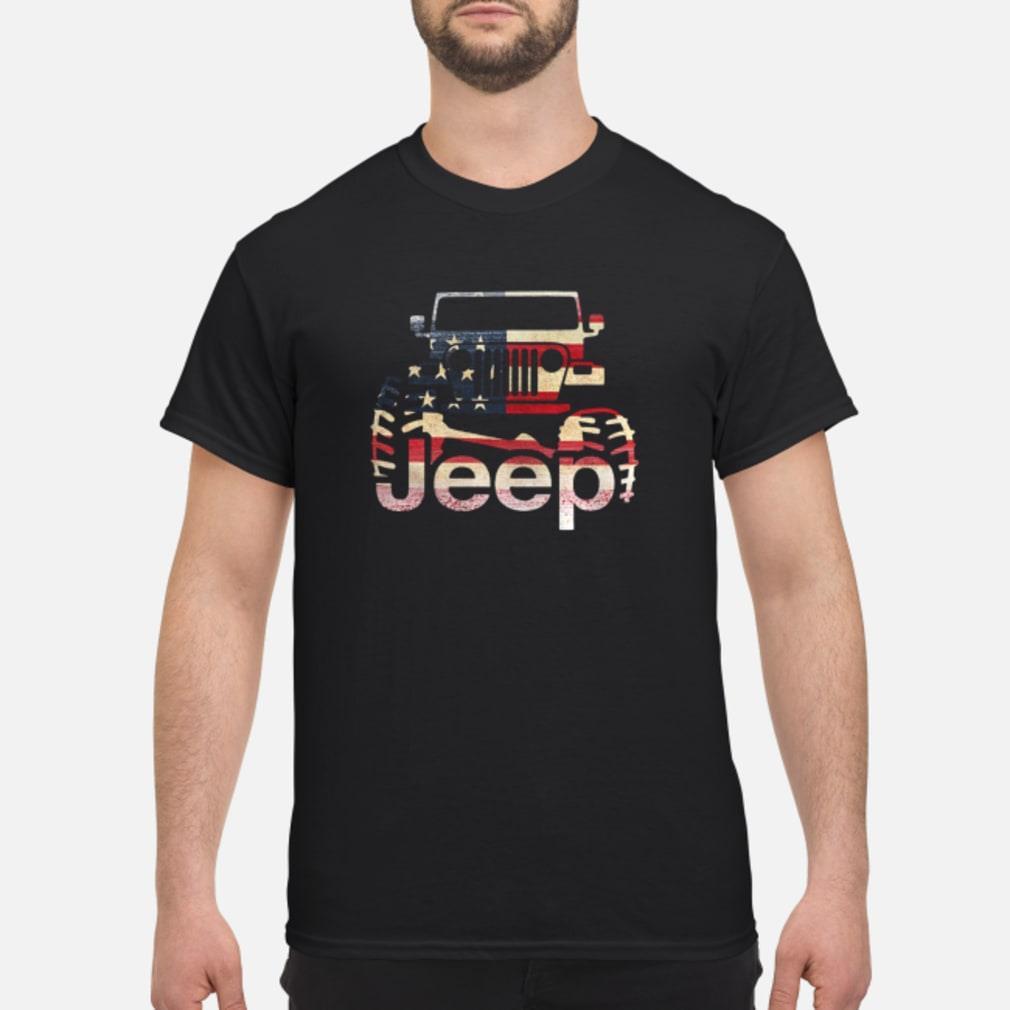 Jeep Flag USA shirt
