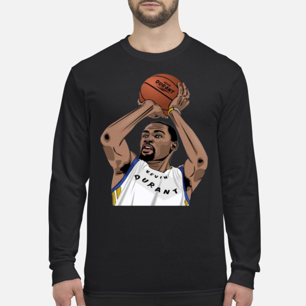 Kevin Durant Basketball Player Golden State Warriors Shirt long sleeved