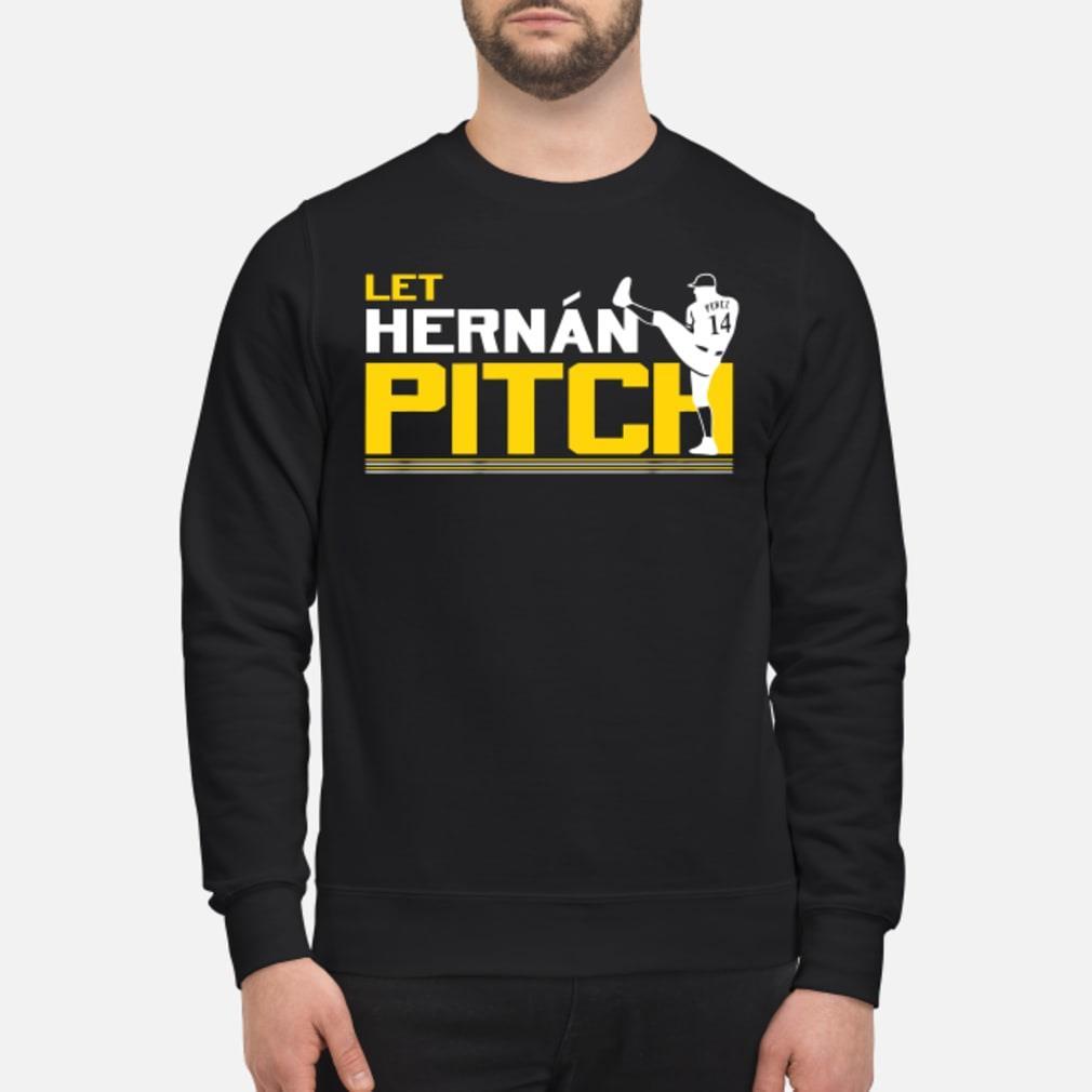 Let Hernan Pitch sweater