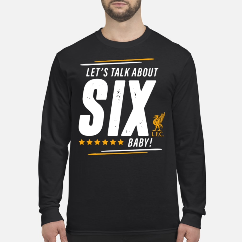 Liverpool Let's talk SIX baby shirt long sleeved