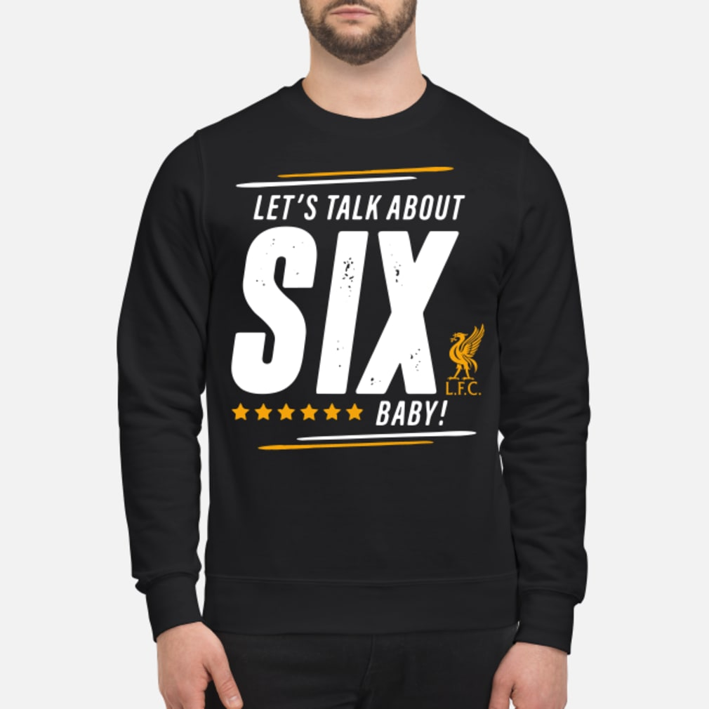 Liverpool Let's talk SIX baby shirt sweater