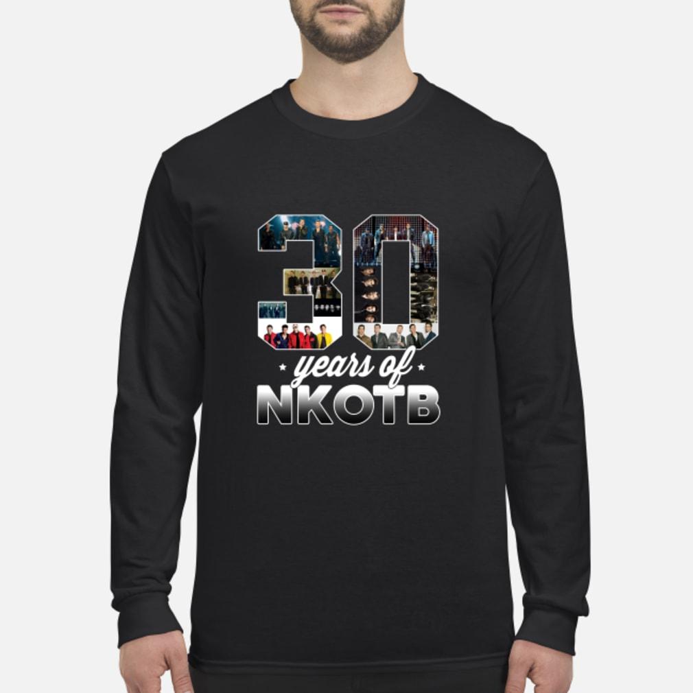 Lovely 30 Years Of NKOTB Shirt Long sleeved