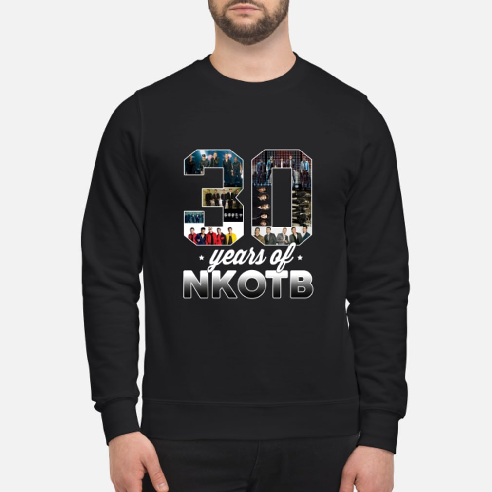 Lovely 30 Years Of NKOTB Shirt sweater