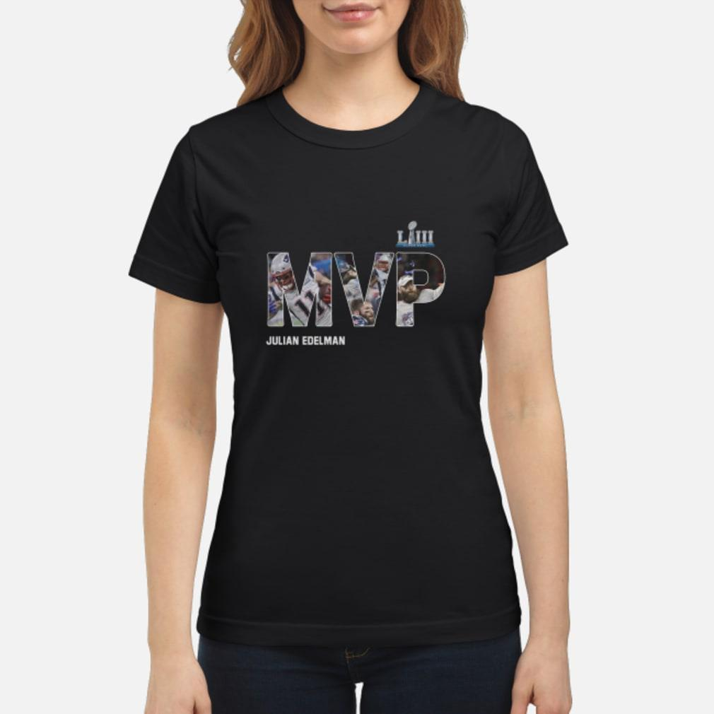 MVP Julian Edelman Shirt ladies tee