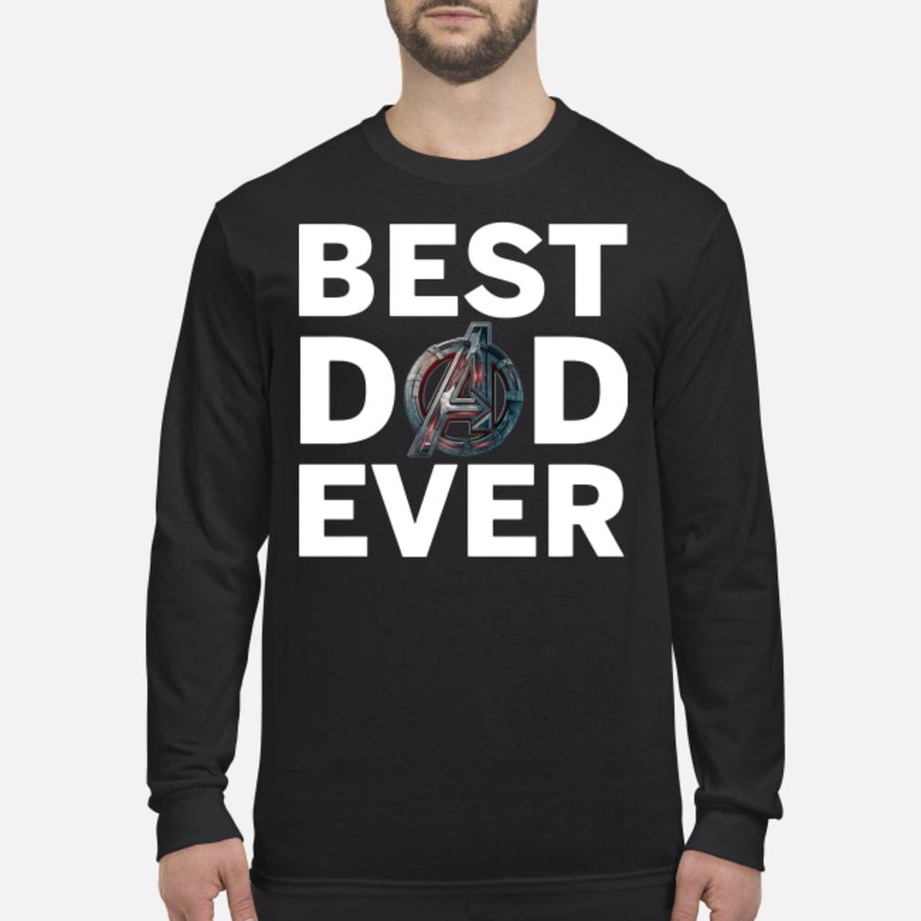 Marvel Avengers Endgame Best Dad Ever Shirt Long sleeved