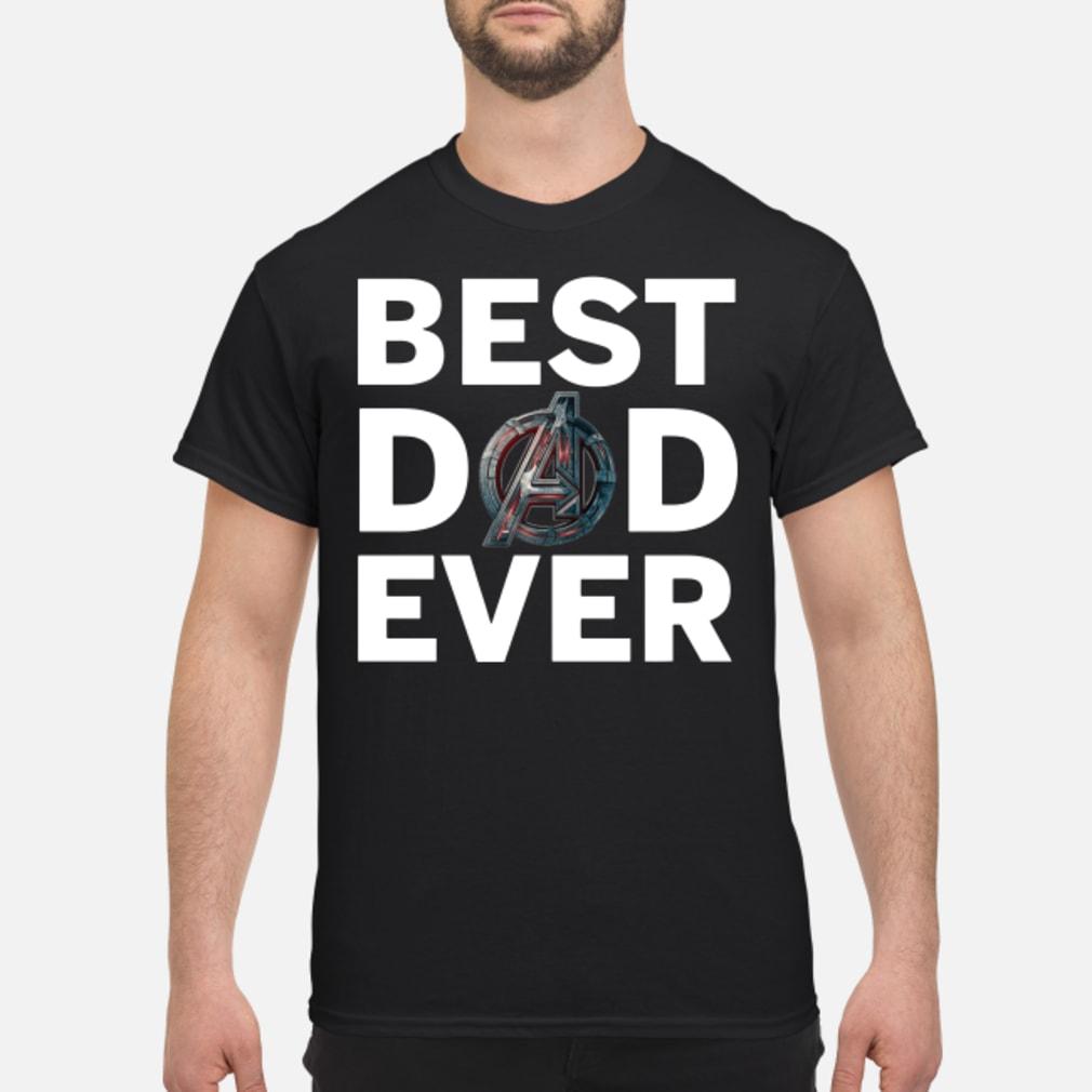 Marvel Avengers Endgame Best Dad Ever Shirt